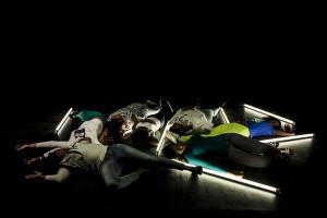 Loredana Longo - The Line - 2015 Video 3'17'' Courtesy galleria Francesco Pantaleone arte Contemporanea